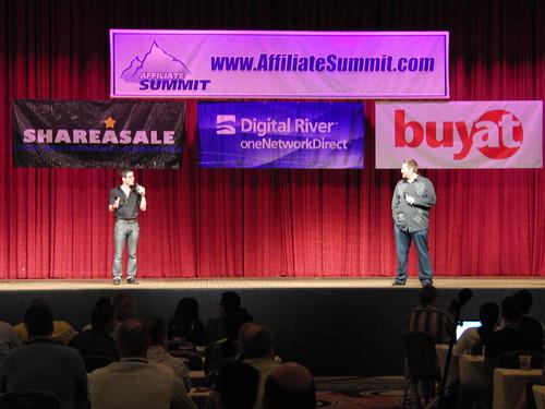 Julien Smith and Chris Brogan Keynote Affiliate Summit East 2009