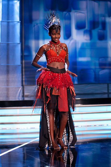 Traje Típico de Miss Namibia