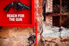 Reach for the gun