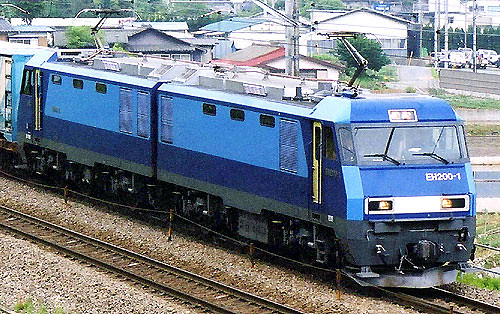 An electric locomotive - image courtesy of skyscrapercity.com