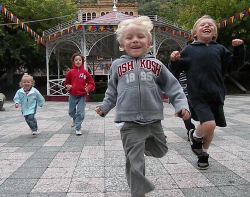 The Kids Enjoyed the Park