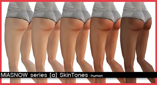 MIASNOW series [a] SkinTones