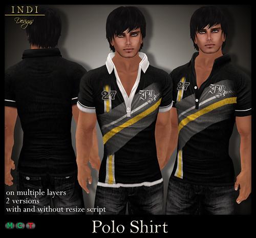 Polo-Shirt-V1-black-yellow
