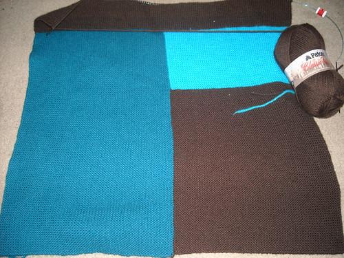 The progress of the blanket