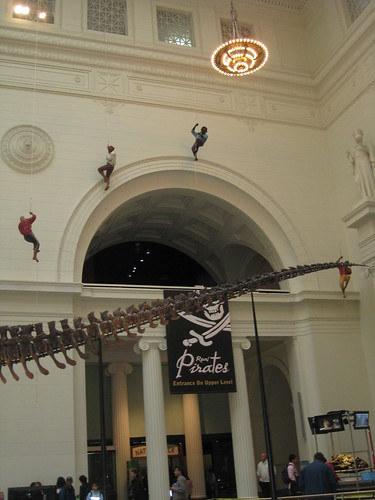 Field Museum boarded by pirates