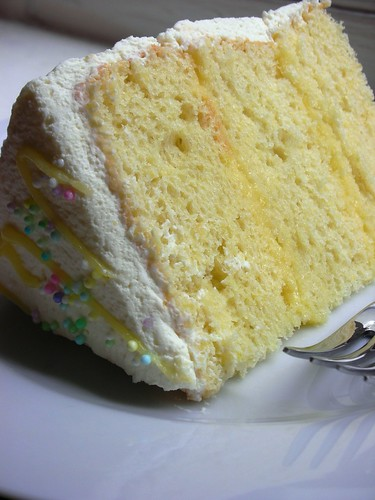 triple lemon chiffon cake