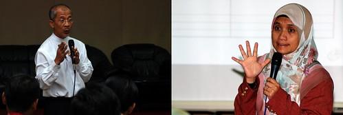 Para penceramah dari Hijrah Wealth Managers Sdn. Bhd.