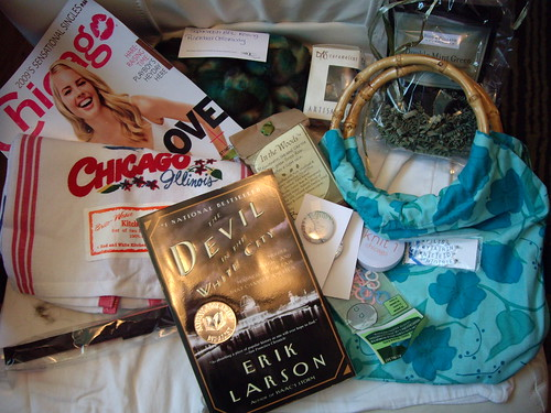 Care package from ChiTownKnitterGal (Leanne)