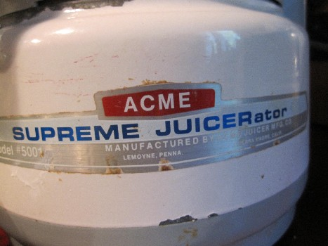 The Supreme Juicerator