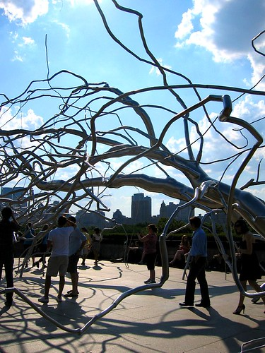 Maelstrom installation on the roof of the Met.