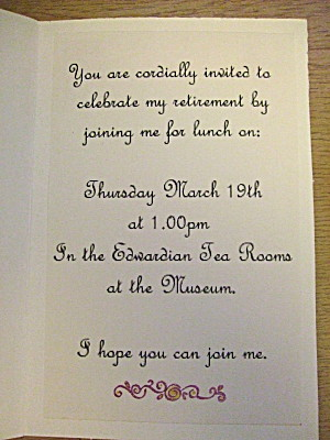 the inside of the invitation