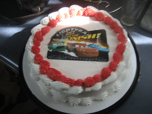 Cars Cake of Course