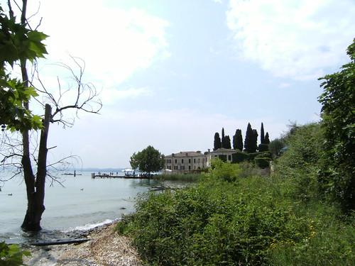 san vigilio from the beach