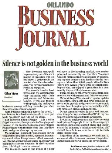 D Ward's OBJ Article
