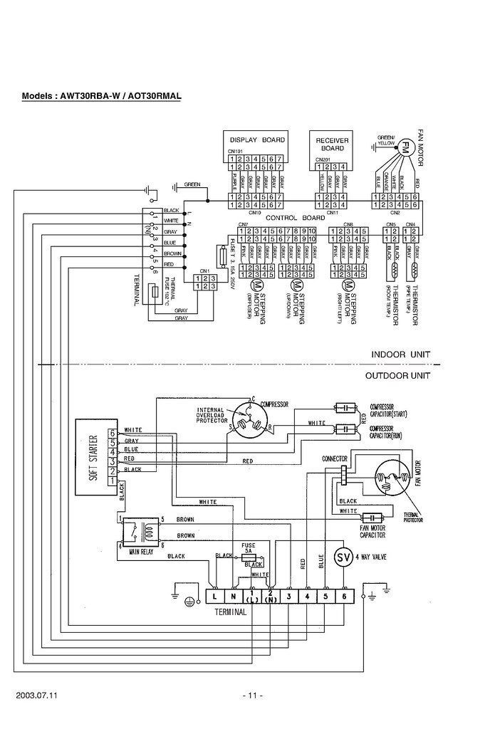 fujitsu inverter wiring diagram reflexology to induce labor techinical advice on aot30rmal?