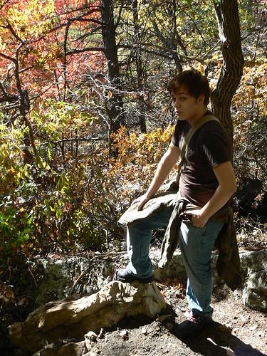 Sinking Creek Mountain - Ascent - Jason