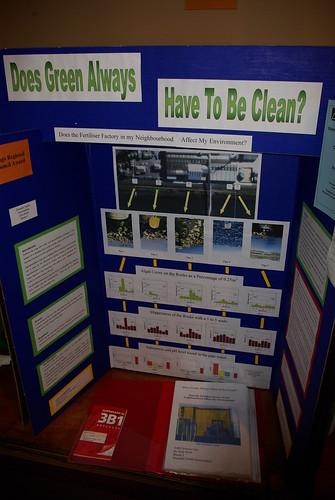 Sustainability entry Otago Science Fair
