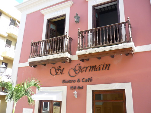 St Germain Bistro & Café in the Old San Juan