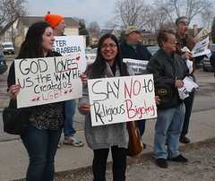 """""""SAY NO to Religious Bigotry"""""""