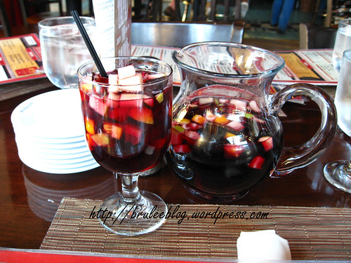 Black raspberry sangria