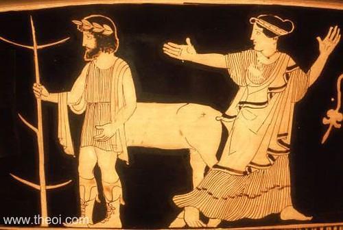 Centaur-Nymph