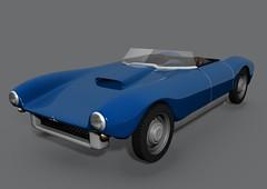 Saab Sonett I 3D