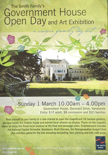 Government House Open Day and Art Exhibition