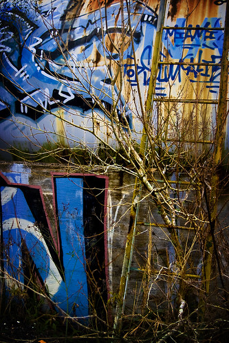 Images from the abandoned factory in Tally...