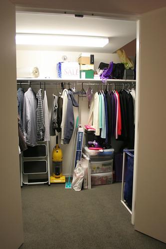A glimpse in the closet