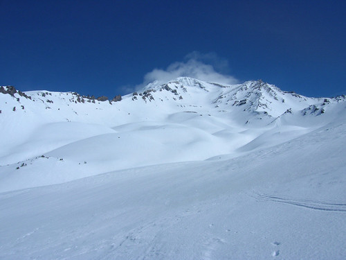 View of Avalanche Gulch