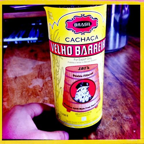 Finally Bought a Bottle of Cachaça