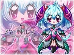 Xynthica Devourer Strawberry Wallpaper (1/5 Set)