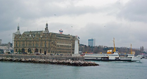 Haydarpaşa railway station, Haydarpaşa tren garı ve iskelesi, İstanbul, Pentax K10d