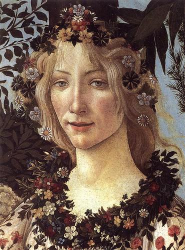 Primavera (detalhe) - Sandro Botticelli