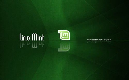 Linux Mint - Dark Green