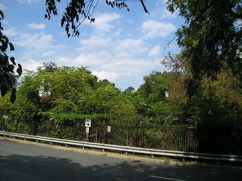 Park Rd. Gate to the Old Soldiers' Home (closed)