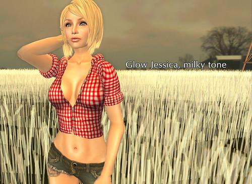 Glow Jessica milky tone