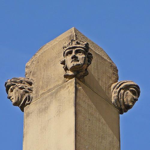 St Paul, Huddersfield - detail