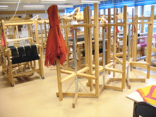 big weaving room