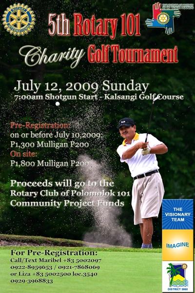 Rotary 101 Polomoloks Charity Golf Tournament