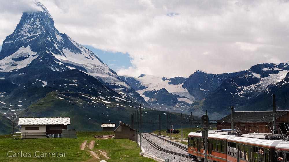 Ferrocarril de Gornergrat y Matterhorn