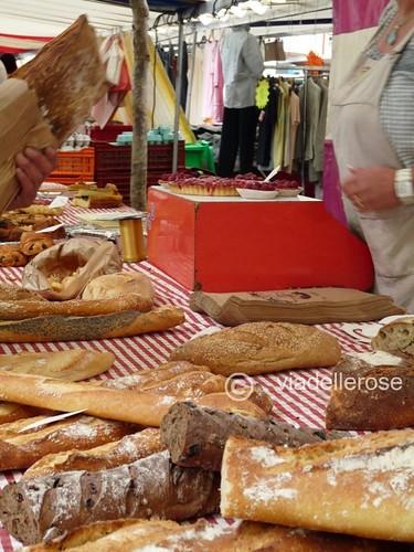 Au marché - boulanger