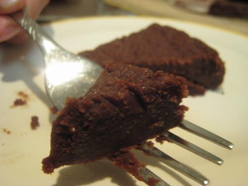 Gâteau (torte) au chocolat fondant de Natalie
