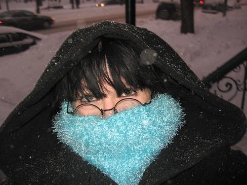 Moi, style Montréal en hiver ;-)