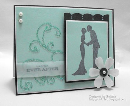 Finalist 6: Belinda Changs Happily Ever After Silhouette Card
