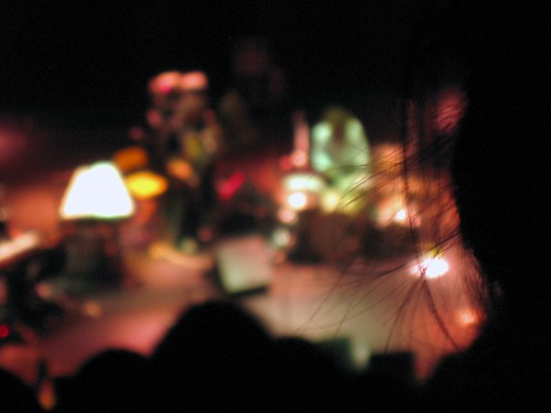 My camera saw the concert as if on LSD at times.