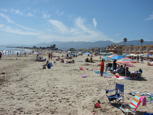 Beach at Carpinteria
