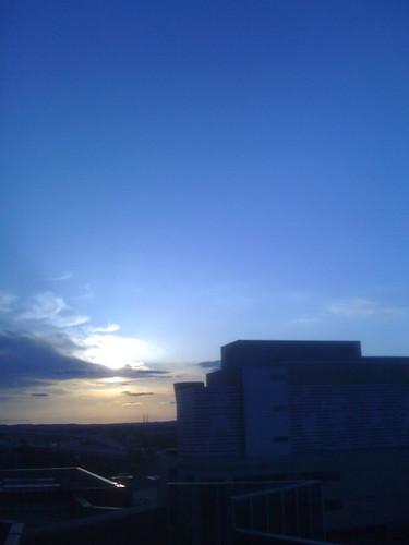 MMX 128 Sunset over Muhammed Ali Center