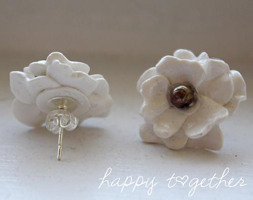 Charming Clay Flower Earrings