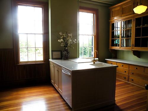 The Mount kitchen shot by Linda Merrill